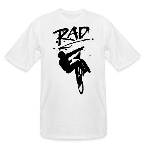 RAD BMX Bike Graffiti 80s Movie Radical Shirts - Men's Tall T-Shirt