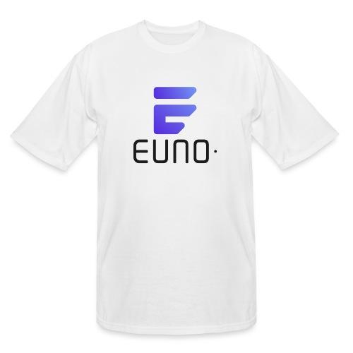 EUNO LOGO POTRAIT BLACK FONT - Men's Tall T-Shirt