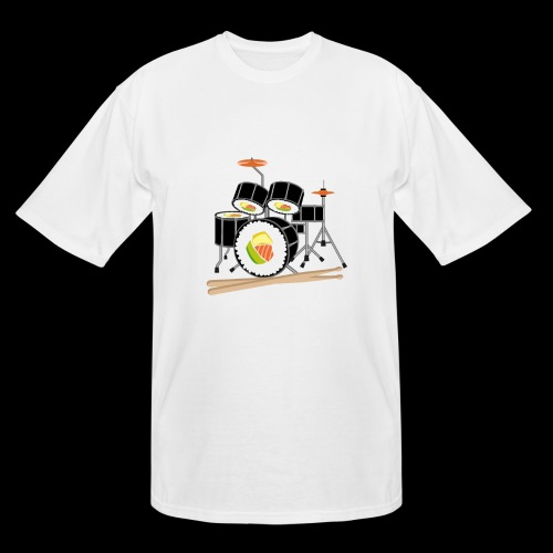 Sushi Roll Drum Set - Men's Tall T-Shirt