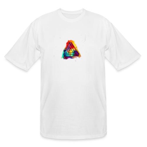 PAINT SPLASH LOGO - Men's Tall T-Shirt