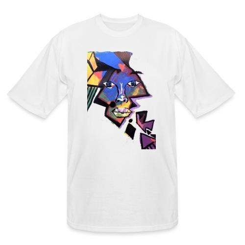 Face Me Artwork - Men's Tall T-Shirt