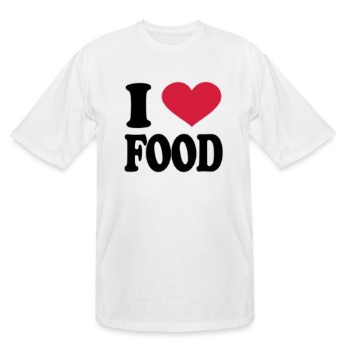 i love food - Men's Tall T-Shirt