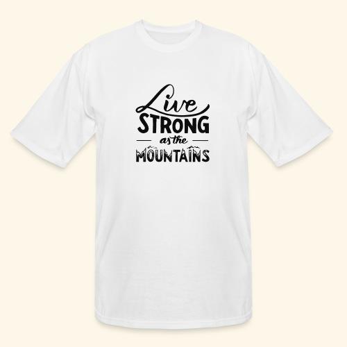 LIVE STRONG - Men's Tall T-Shirt