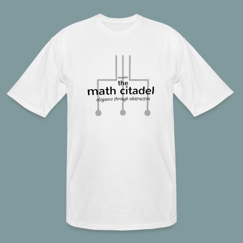 Abstract Math Citadel - Men's Tall T-Shirt