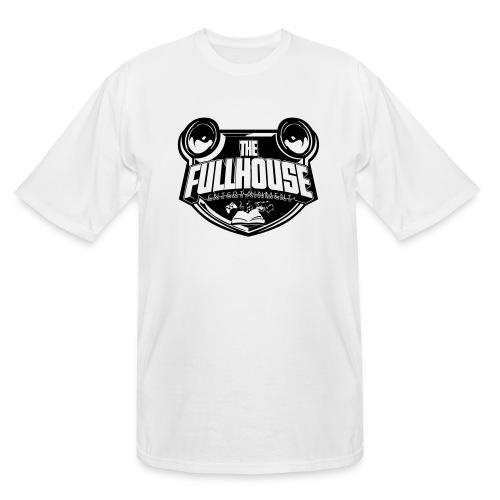 iPad 2/3 Case With Black/White FHE Logo - Men's Tall T-Shirt