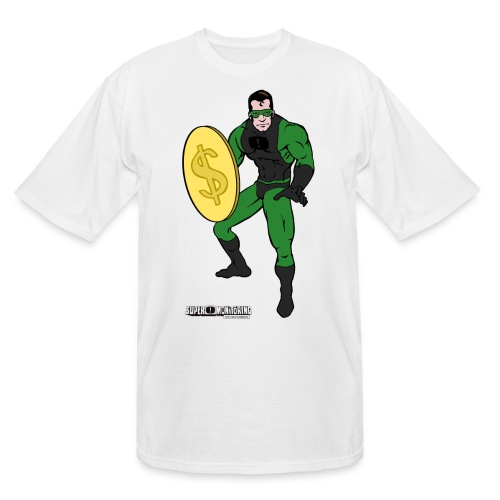 Superhero 4 - Men's Tall T-Shirt