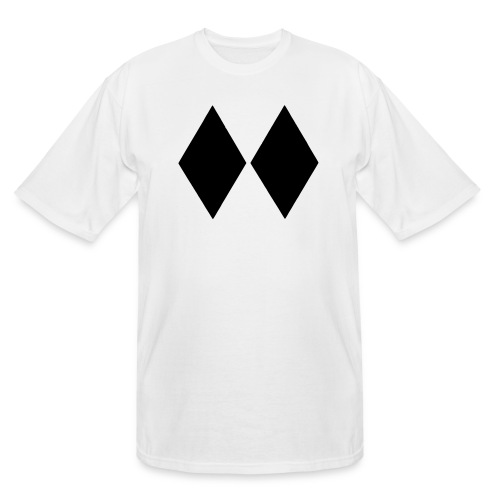 Double Black Diamond - Men's Tall T-Shirt
