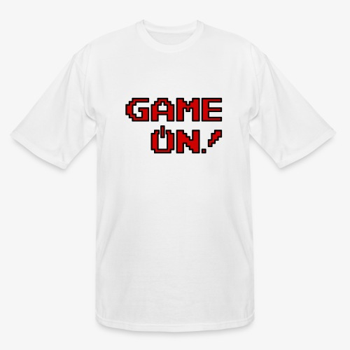 Game On.png - Men's Tall T-Shirt