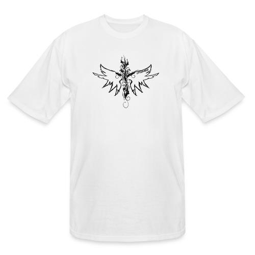 peace.love.good karma - Men's Tall T-Shirt