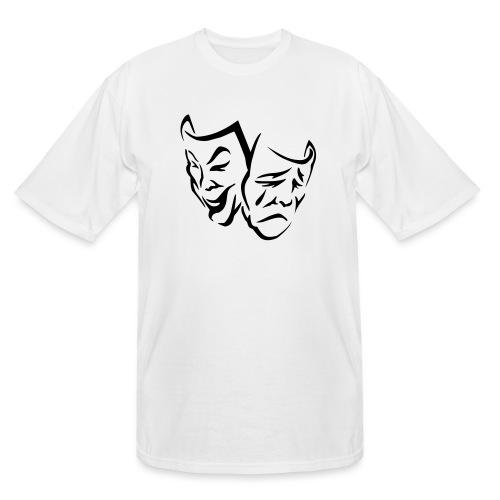 Plex Cover Smiles II - Men's Tall T-Shirt