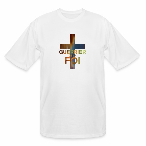 WARRIOR OF FAITH - Men's Tall T-Shirt