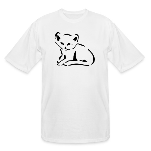 Kitty Cat - Men's Tall T-Shirt