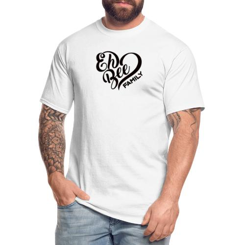 EhBeeBlackLRG - Men's Tall T-Shirt