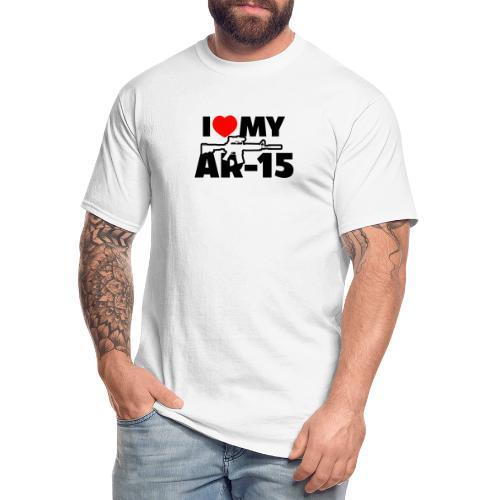 I LOVE MY AR-15 - Men's Tall T-Shirt