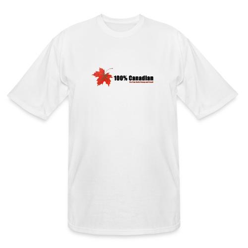 100% Canadian - Men's Tall T-Shirt