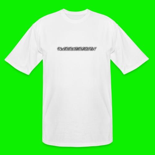 Warherolion plane text-gray - Men's Tall T-Shirt