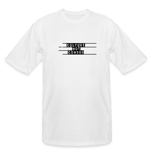 Culture Not Condos - Men's Tall T-Shirt