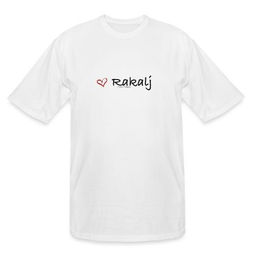 I love Rakalj - Men's Tall T-Shirt