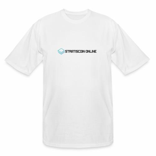 stratiscoin online dark - Men's Tall T-Shirt
