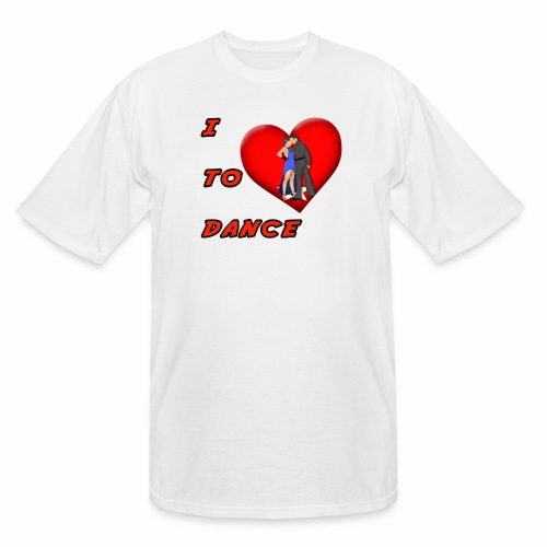 I Heart Dance - Men's Tall T-Shirt
