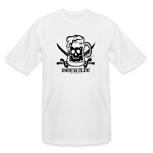 Beerate - black - Men's Tall T-Shirt
