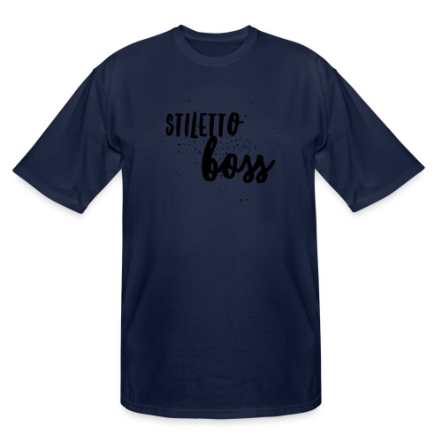 StilettoBoss Low-Blk - Men's Tall T-Shirt