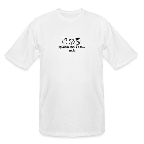 SMILE BACK - Men's Tall T-Shirt