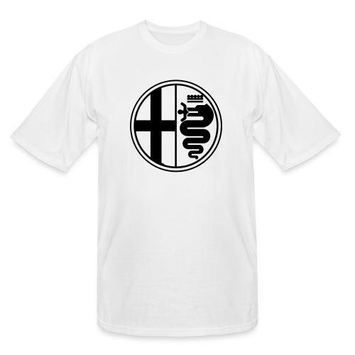 Alfa Romeo Plain Mono - Men's Tall T-Shirt