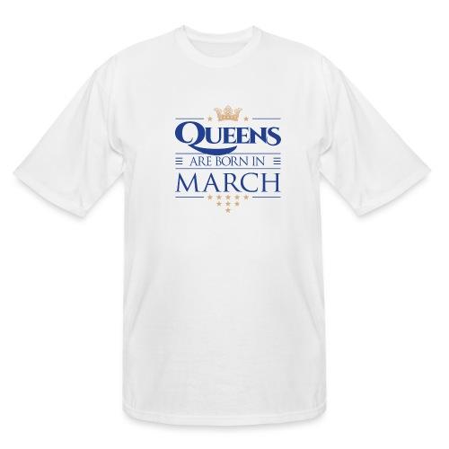 Queen of March 02 - Men's Tall T-Shirt