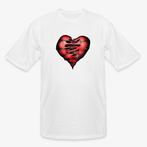 Chains Heart Ceramic Mug - Men's Tall T-Shirt