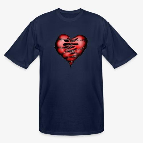 Chains Heart Ceramic Mug - Men's Tall T-Shirt