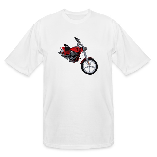 Motorcycle red - Men's Tall T-Shirt