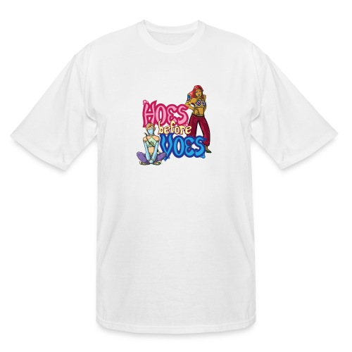 Hoes Before Voes - Men's Tall T-Shirt