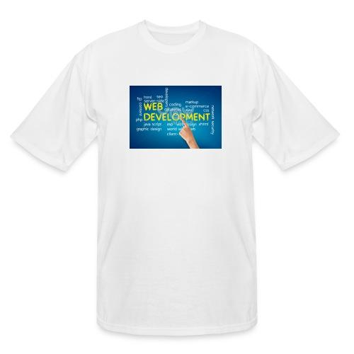 web development design - Men's Tall T-Shirt