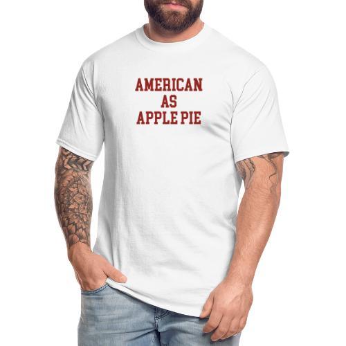 American as Apple Pie - Men's Tall T-Shirt