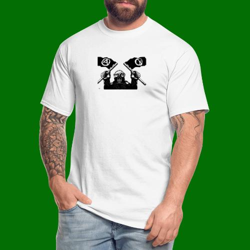 anarchy and peace - Men's Tall T-Shirt