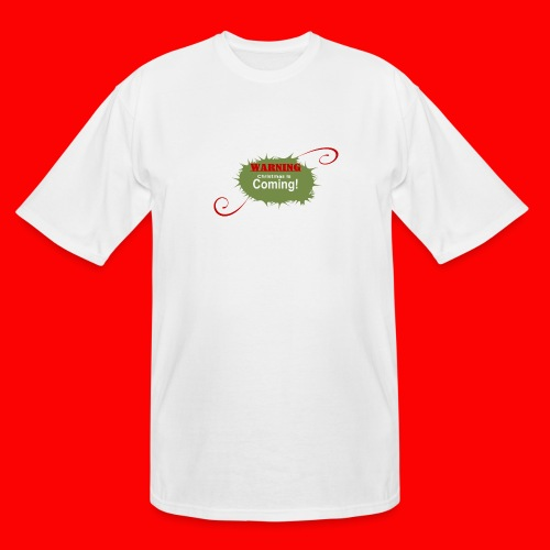 Christmas_is_Coming - Men's Tall T-Shirt