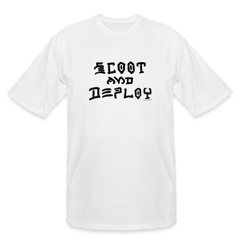 Scoot and Deploy - Men's Tall T-Shirt