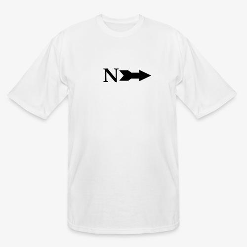 Narrow Logo Black - Men's Tall T-Shirt
