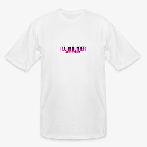 The Fluro Hunter Black And Purple Gradient - Men's Tall T-Shirt