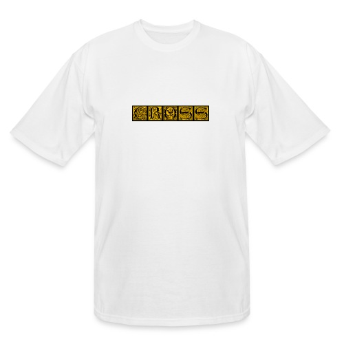 Cr0ss Gold-Out logo - Men's Tall T-Shirt