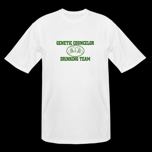 genetic counselor drinking team - Men's Tall T-Shirt