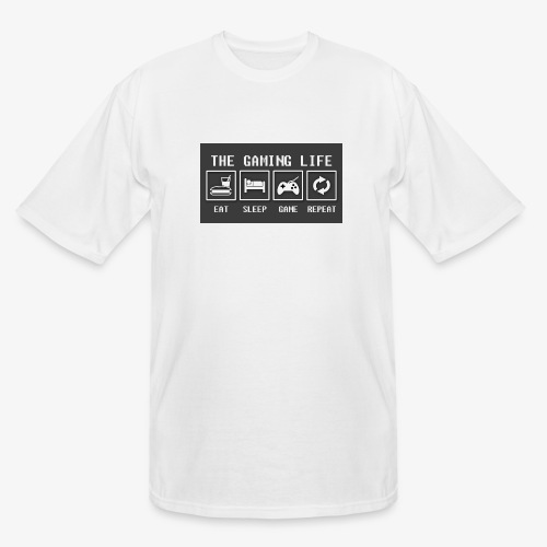 Gaming is life - Men's Tall T-Shirt