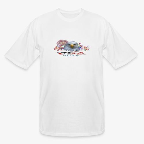 USA EAGLE 2018 - Men's Tall T-Shirt