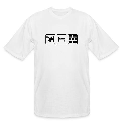 Eat Sleep Urb big fork - Men's Tall T-Shirt