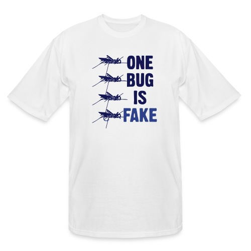 Fly Fishing Hopper - Men's Tall T-Shirt