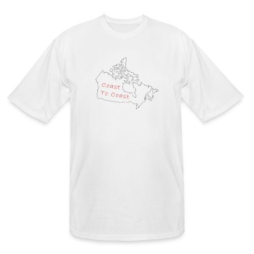Coast to Coast - Men's Tall T-Shirt