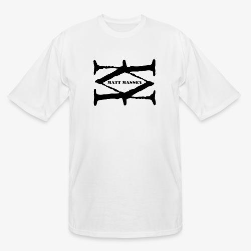 Matt Massey Logo Black - Men's Tall T-Shirt
