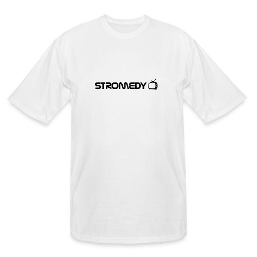 White Stromedy T-Shirt - Men's Tall T-Shirt