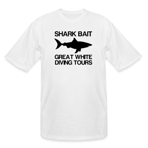 Great White Shark T-Shirt - Men's Tall T-Shirt